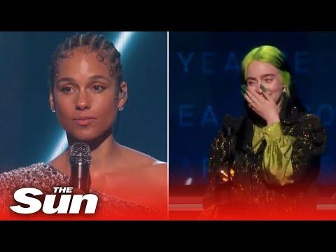 Grammys 2020 Highlights - Stars Pay Tribute To Kobe Bryant And Billie Eilish Sweeps Major Awards