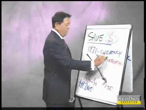 Robert Kiyosaki rich dad invest in gold , Why Savers Are Los
