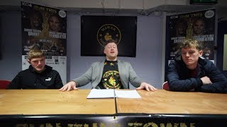 KO4 Press Event - Jack Slater and Darren Roberts (not fighting each other)
