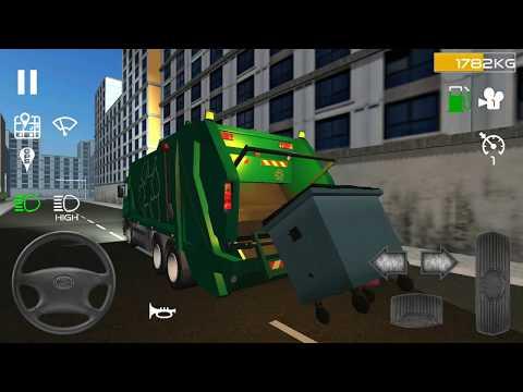 Çöp Kamyonu Simülatörü||Oyun Oburu