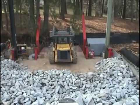 Rip Rap Erosion Control Installation on Lake Lanier