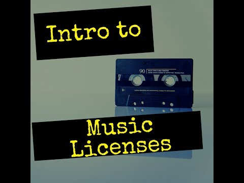 Introduction to Music Licenses (Mechanical License, Synch License, Broadcast License)