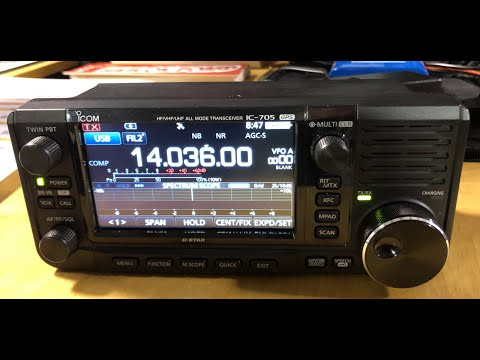 Icom Ic-705 Interview With Ray Novak From Orlando Hamcation 2020.