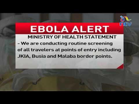 Kenya on high alert following Ebola outbreak in Congo