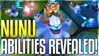 NUNU REWORK ALL ABILITIES REVEALED!! The Boy And His Yeti - New Champion - League of Legends