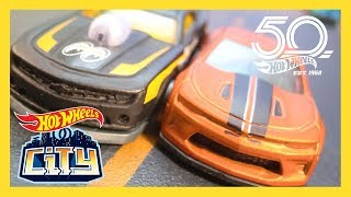 CRAZY CAMARO COMPETITION! | Hot Wheels City: Season 2 | Episode 7