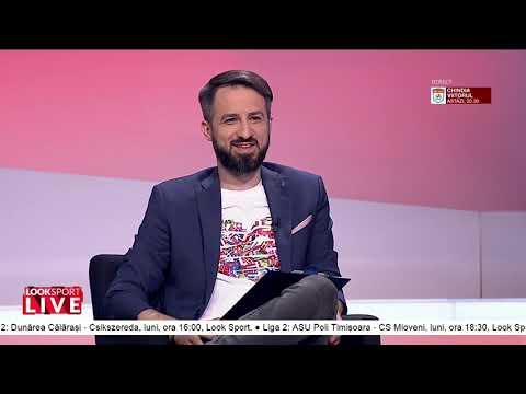 Bogdan Andone, la Look Sport LIVE, 14 mai. Totul despre mandatele de la Voluntari, FCSB sau Astra