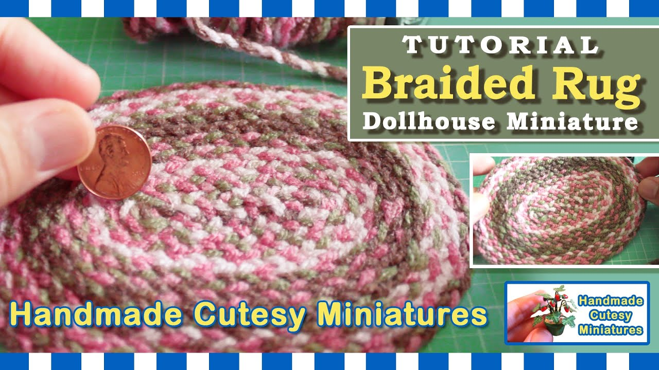 BRAIDED RUG, Complete Tutorial