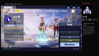 Fortnite avec Gecko Glitcher et luffy bhr