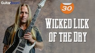 Video #30 Wicked Lick of The Day - Yngwie Malmsteen Style download MP3, 3GP, MP4, WEBM, AVI, FLV Oktober 2018