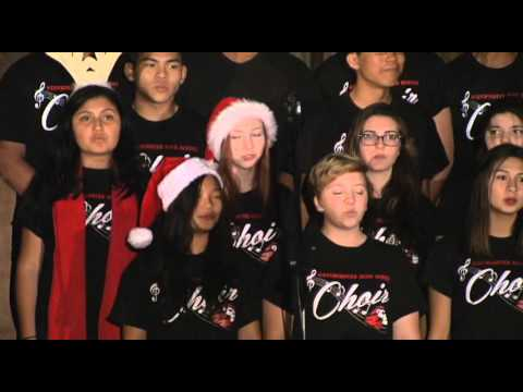 Westminster 2015 Tree Lighting and Community Sing