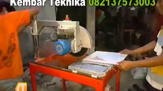 Mesin Potong Batu bata, Batu Alam, Keramik