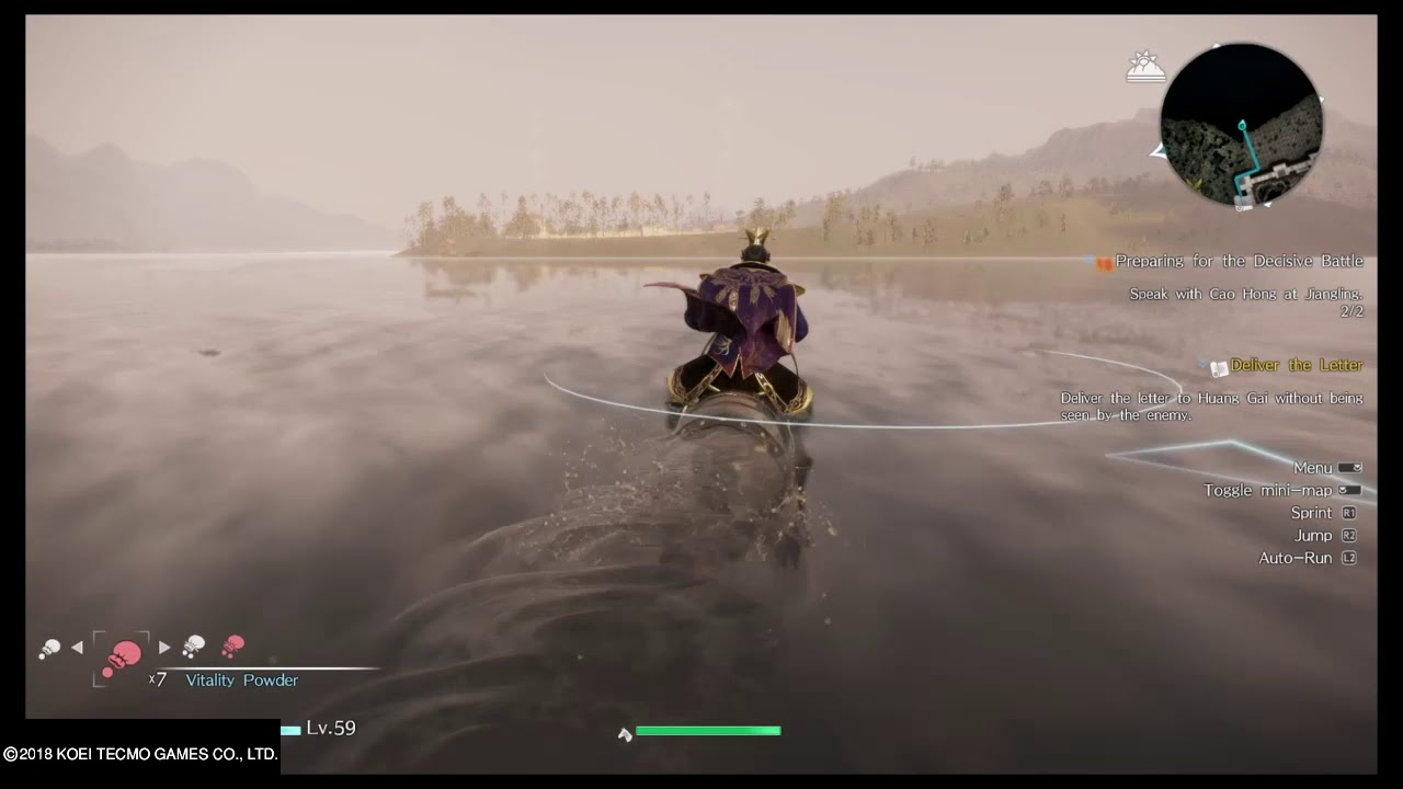 dynasty warriors 9 deliver the letter