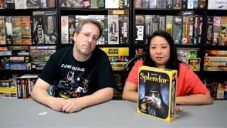 Unboxing of Splendor by Asmodee