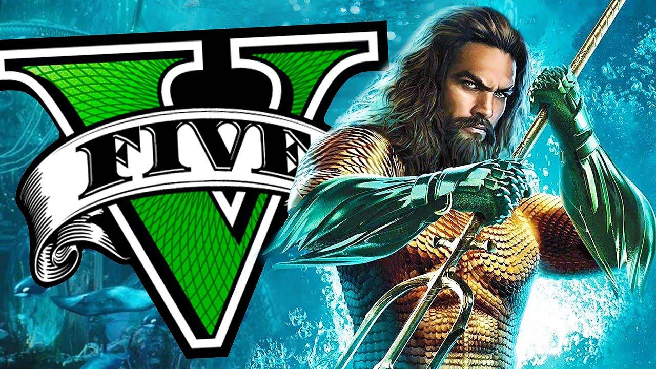 Download Soy AQUAMAN en GTA 5! Grand Theft Auto V - GTA V Mods