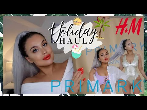 6543139c9e64f SUMMER PRIMARK/H&M TRY ON HAUL MAY 2019! BEACH/SWIMWEAR YOU NEED ...