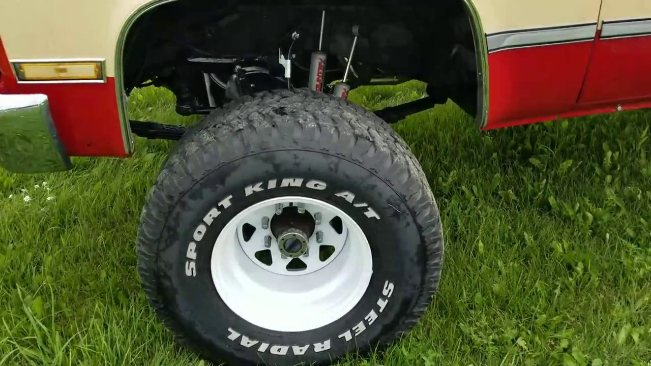 1987 Chevy Square body with BTR Stage IV truck cam 5 3L and NV4500