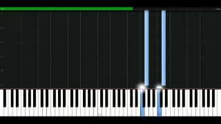 Madonna - Justify My Love [Piano Tutorial] Synthesia | passkeypiano