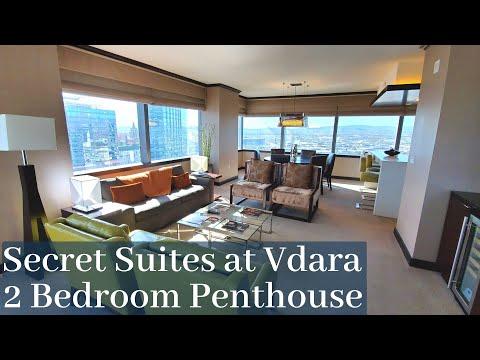 Secret Suites at Vdara Las Vegas - 2 Bedroom Penthouse Suite | Panorama Strip View