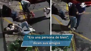La Fiscalía de Michoacán lo había identificado como capitán de meseros, pero sus amigos lo desmintieron. Falleció luego del ataque, en un hospital