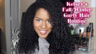 Kelsey's Fall/Winter Curly Hair Routine Thumbnail