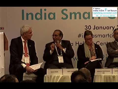 Mr Vipin Tyagi, Executive Director - Centre for Development of Telematics (India   EU Dialogue)