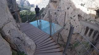 My 1st Travel video: (coolest trip) / 👑 CAMINITO DEL REY 👑 / SPAIN