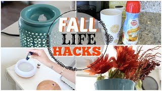 SIMPLE LIFE HACKS FOR FALL 2017