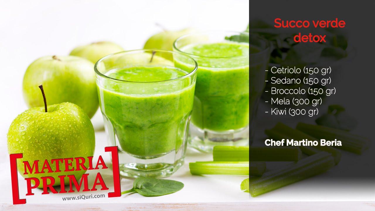 succhi verdi per ingredienti dimagranti