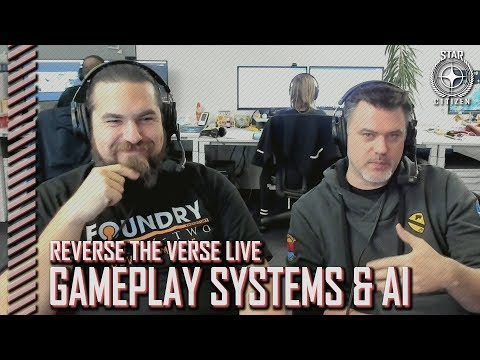 Star Citizen: Reverse the Verse LIVE - Gameplay Systems and AI