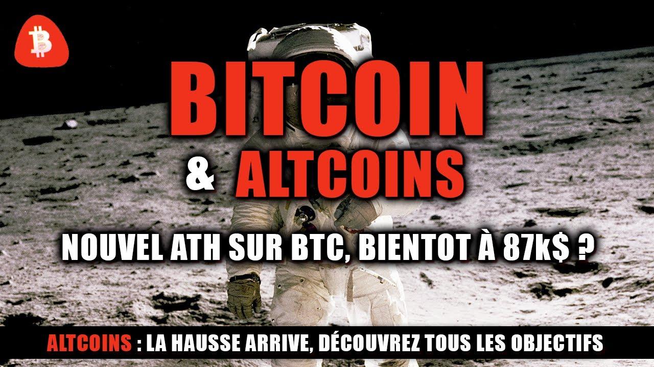 Download 🚀🔥 NOUVEL ATH POUR BITCOIN !!! MES PROCHAINS OBJECTIFS SUR LES CRYPTOS (BTC, ETH, VET, LINK...)