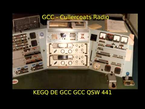 Channel CW  tea party 4 - maritime radio at 500kHz