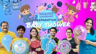Preparation Of Baby Shower   Choudhary Family   Vivek Choudhary Ft. Khushi punjaban