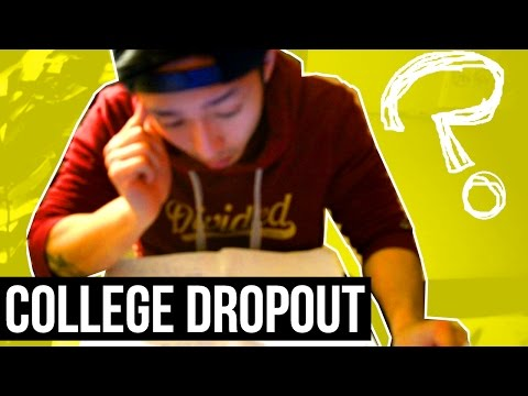 COLLEGE DROPOUT? DROPPING OUT OF UNIVERSITY ADVICE & WHY I QUIT?