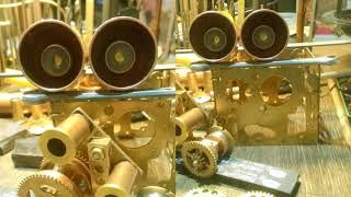 Steampunk Робот Валли (WALL'e) из будильника своими руками