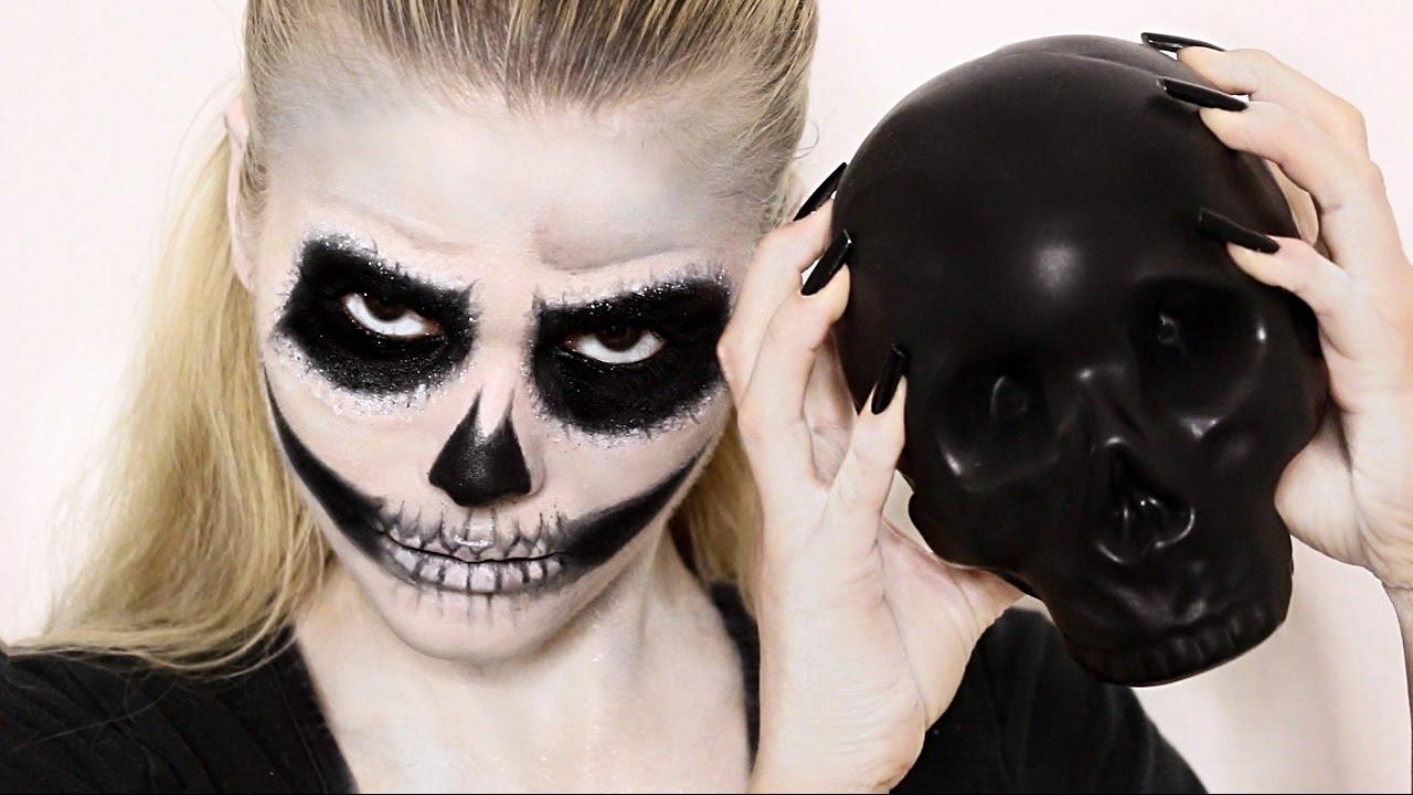 Easy Skull Makeup Tutorial You - Mugeek Vidalondon