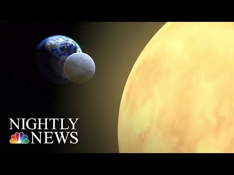 Upcoming Total Eclipse Will Hit All Of The U.S. | NBC Nightly News
