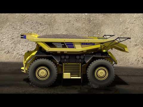 Innovative Autonomous Haulage Vehicle