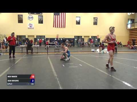 74 kg q, Nick Wanzek, Minnesota Storm vs Sean Havlovic, Legends of Gold