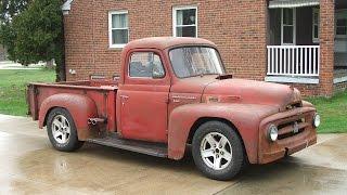 April 2016 1953 INTERNATIONAL Truck Rat Rod Hot Rod