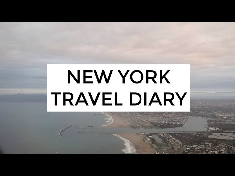 NYC TRAVEL DIARY WINTER 2017 | MORE SEREIN