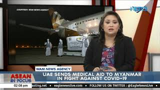 UAE sends medical aid to Myanmar in fight against COVID-19
