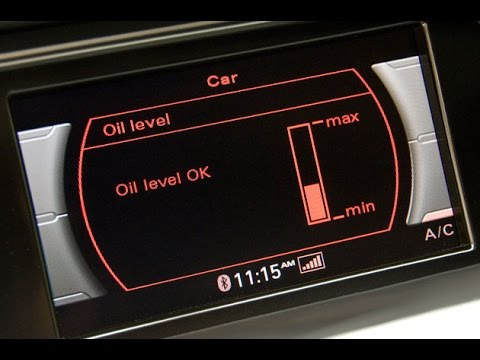 Audi q5 a4 a5 2 0t engine oil level gauge hood issue youtube Audi a5 motor oil