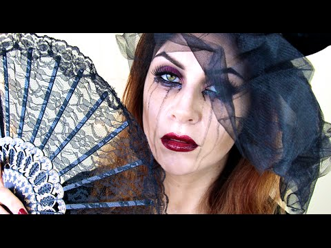 black widow makeup tutorial  easy glam halloween look