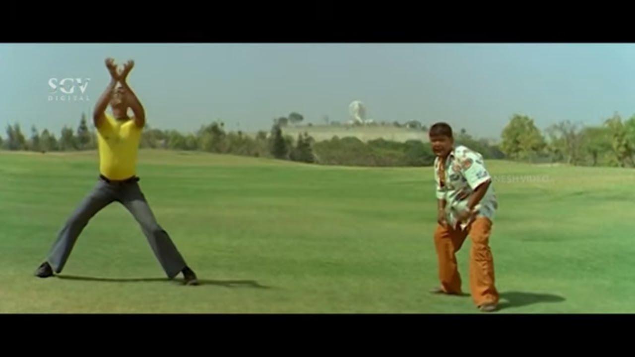 ಇದು ಏನೋ..ಬ್ಯಾಟ್ ಕಡ್ಡಿ ಥರ ಇದೆ ಬಾಲ್ ಗೋಲಿ ಥರ ಇದೆ   Comedy Scene   Prajwal D   Bullet Prakash   Geleya