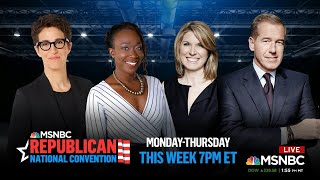 Watch: Republican National Convention Day 1 | MSNBC