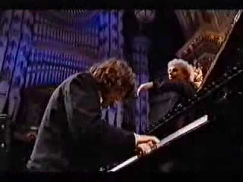 Davide Franceschetti and Sir Simon Rattle Brahms Piano Concerto n.1 op.15 (fragment)