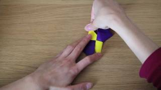 How To Make: Origami Shuriken (おりがみ しゅりけん)