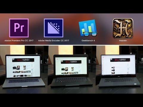 BEST Premiere Pro video editing laptop?  - 2016 MacBook Pro vs Dell XPS 15 vs Razer Blade 14