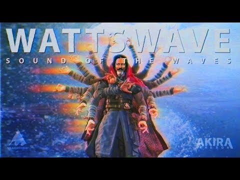 Sound of The Waves 🌊🌊🌊 ft. Alan Watts  ( WATTSWAVE ⚡🌊  )